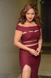 Actress Nikesha Patel Latest Images @ Kotikokkadu Audio Release