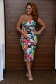 Actress Nikesha Patel New Stills in Floral Dress