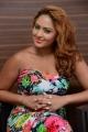 Actress Nikesha Patel New Hot Stills in Floral Dress