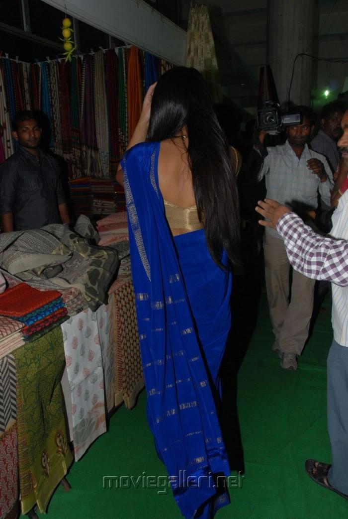 National Silk and Cotton Expo at Sri Satya Sai Nigamagamam, Hyderabad