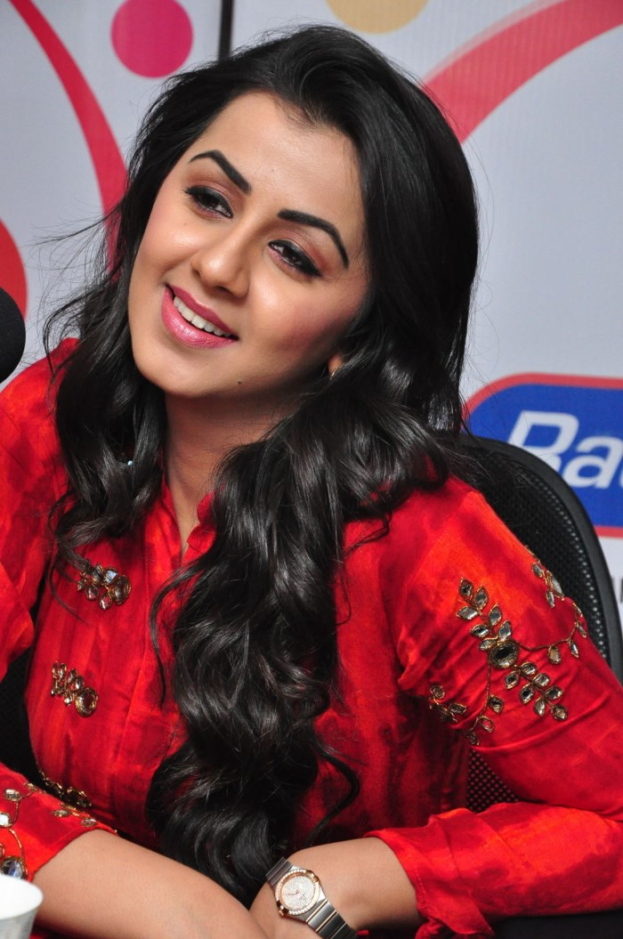 Krishnashtami Movie Actress Nikki Galrani at 91.1 FM Radio City