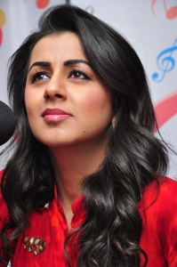 Nikki Galrani at Radio City FM for Krishnashtami Promotions