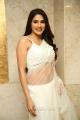 Kanchana 3 Actress Nikki Tamboli Hot in White Saree Pics