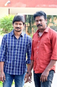 Udhayanidhi Stalin, Samuthirakani @ Nimir Movie Audio Launch Stills