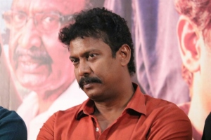 Samuthirakani @ Nimir Movie Audio Launch Stills