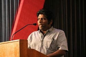 Actor Shanmugarajan @ Nimir Movie Audio Launch Stills