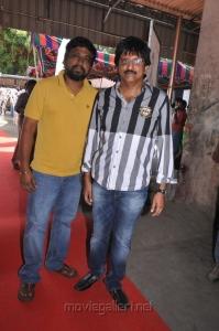 Director M.Rajesh & M.Raja at Nimirndhu Nil Movie Launch Stills