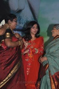 Jayam Ravi wife Aarthi at Nimirndhu Nil Movie Pooja Stills