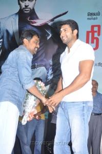Lingusamy, Jayam Ravi at Nimirndhu Nil Movie Launch Stills