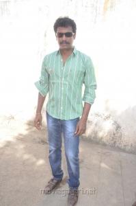 Director Samuthirakani at Nimirndhu Nil Movie Launch Stills