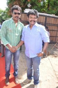 Samuthirakani, Hari at Nimirndhu Nil Movie Launch Stills