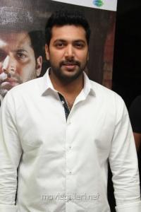Actor Jayam Ravi @ Nimirnthu Nil Movie Audio Launch Stills