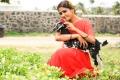 Actress Nimmy Red Saree Photoshoot Stills