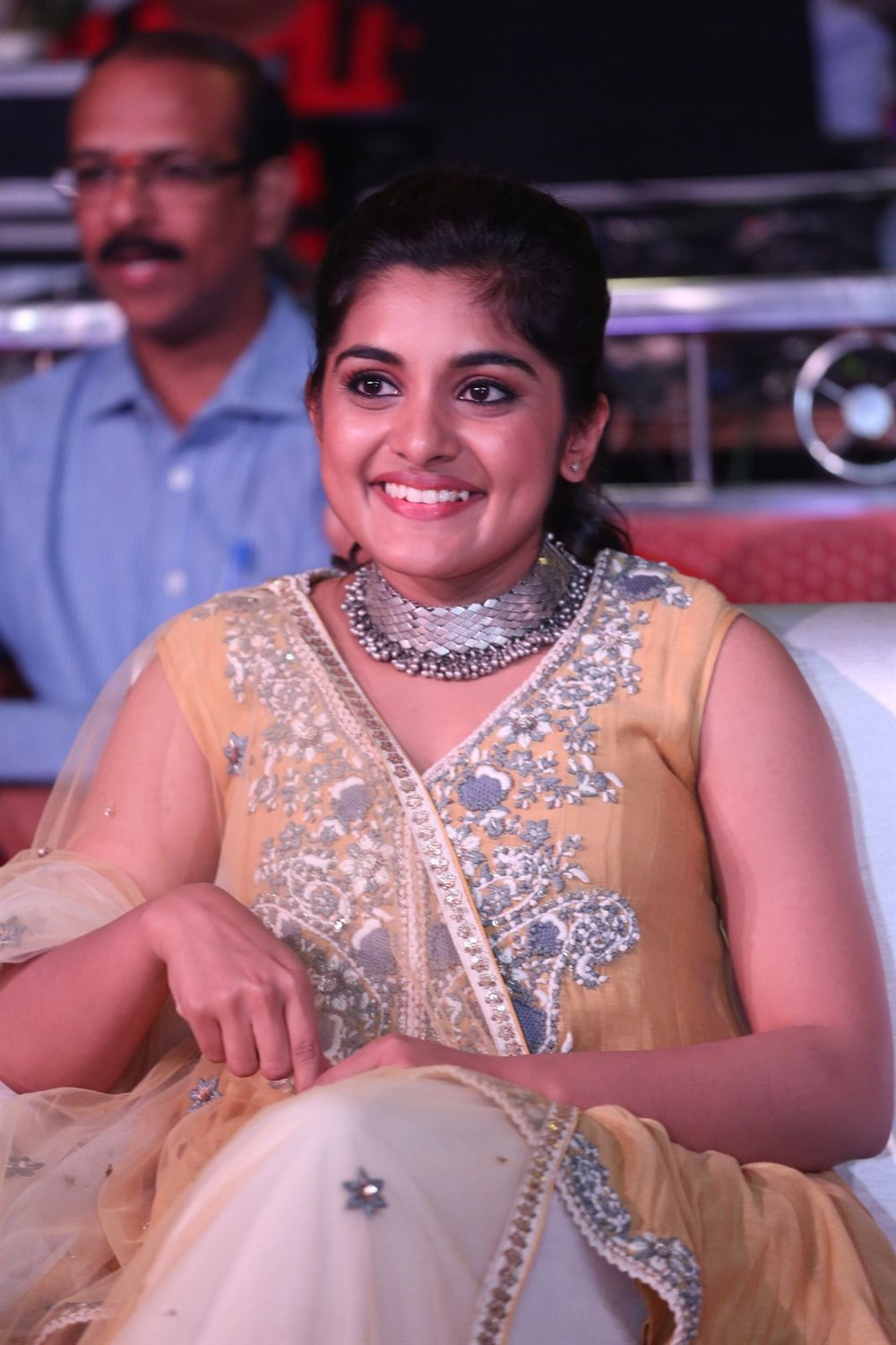 Actress Nivetha Thomas @ Ninnu Kori Movie Pre Release Function Stills