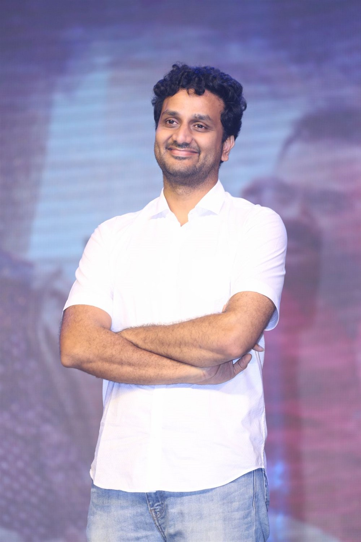 Srinivas Avasarala @ Ninnu Kori Movie Pre Release Function Stills