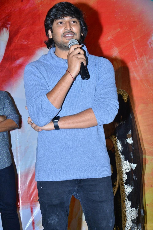 Actor Vamsi Yakasiri @ Ninnu Thalachi First Look Launch Stills