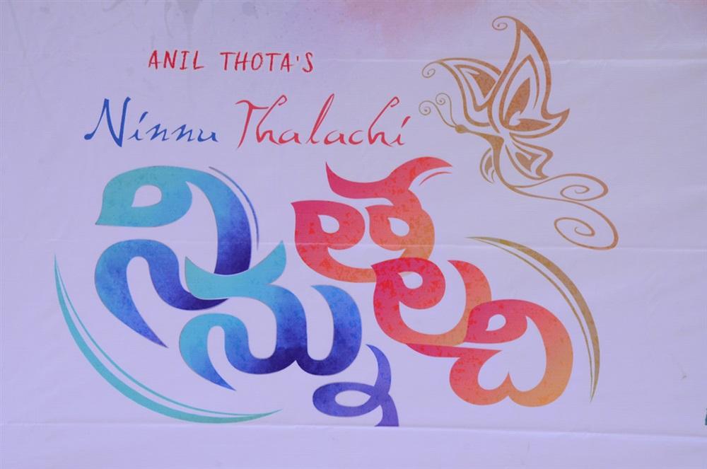 Ninnu Thalachi First Look Launch Stills