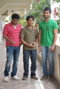 Elred Kumar, GV Prakash, Adharva at Nirantharam Nee Oohalo Press Meet Stills