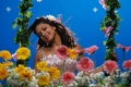 Actress Amala Paul at Nirantharam Nee Oohalo Stills