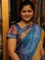 News Reader Nirmala Periasamy Photos in Silk Saree
