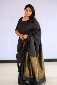 Actress Nirosha Ramki Images in Black Saree