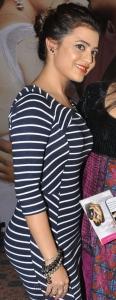 Telugu Heroine Nisha Agarwal Hot Photos in Bandage Dress