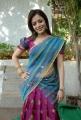 Nisha Agarwal in Saree Hot Stills at Sukumarudu Movie Opening