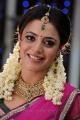 Nisha Agarwal Cute Stills in Pink Half Saree @ Saradaga Ammayitho