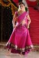 Nisha Agarwal Hot Stills in Pink Half Saree @ Saradaga Ammayitho