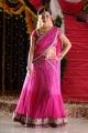 Nisha Agarwal Hot Stills in Pink Half Saree @ Saradaga Ammayilatho