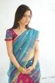 Telugu Actress Nisha Agarwal Hot Transparent Saree Stills