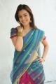 Nisha Agarwal Hot Stills in Uppada Pattu Saree