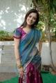 Nisha Agarwal Hot Stills in Uppada Silk Saree