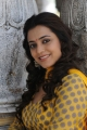 Telugu Actress Nisha Agarwal in Yellow Churidar Pics