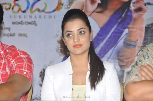 Actress Nisha Agarwal New Stills at Sukumarudu Press Meet