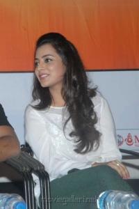 Cute Nisha Agarwal Stills in White Dress