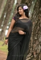Actress Nisha Shah Hot Saree Photos in Oke Okka Chance Movie