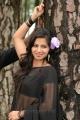 Actress Nisha Shah Hot Black Saree Photos in Oke Okka Chance Movie