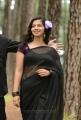 Telugu Actress Nisha Shah Hot Saree Stills