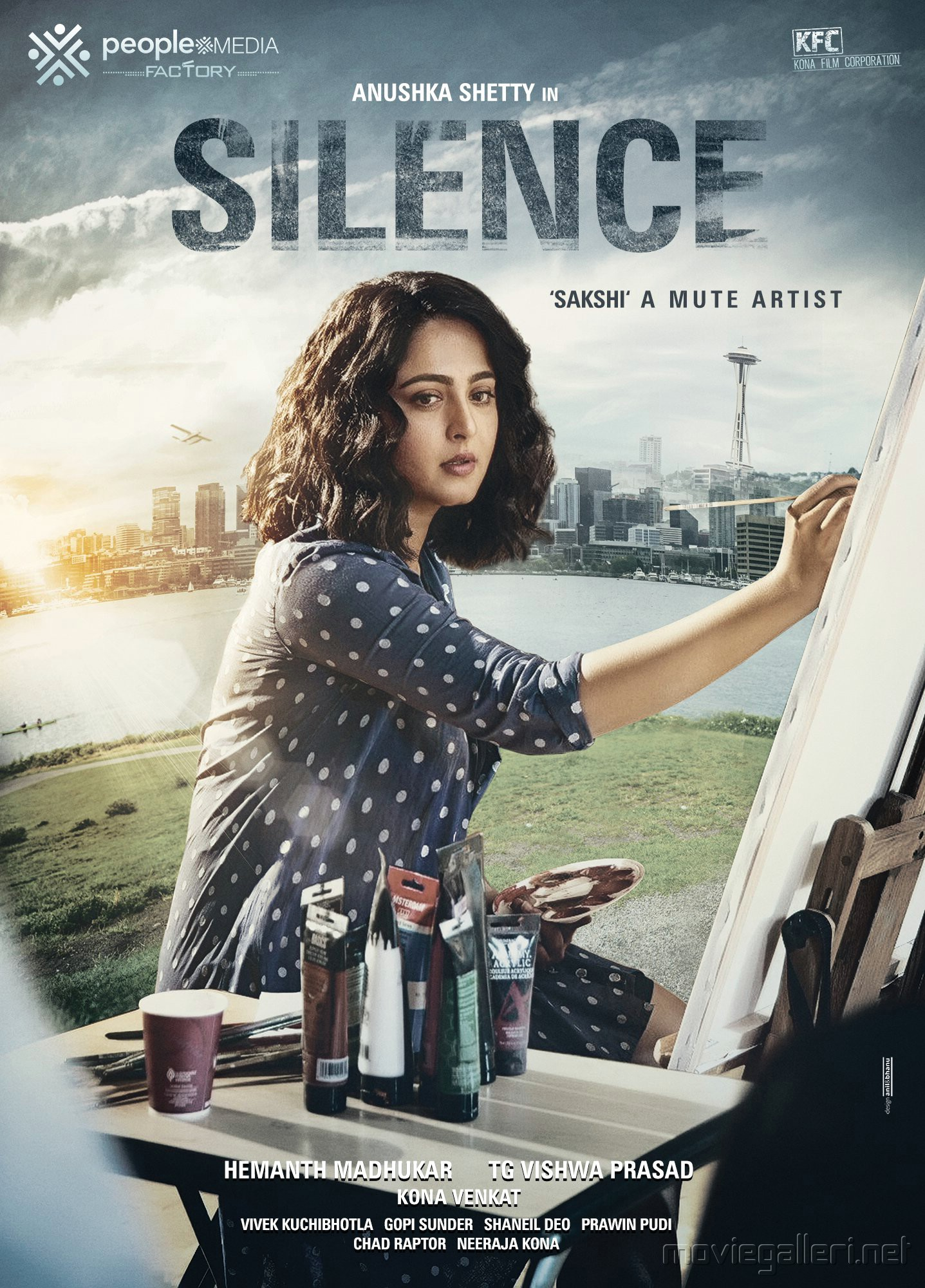 Anushka Shetty Silence Movie First Look Poster HD