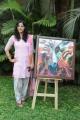 Nishanti Evani at Hari Srinivas Painting Exhibition