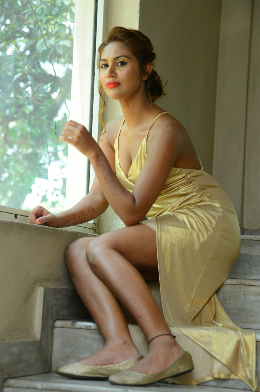 Actress Nishigandha Stills @ Captain Rana Prathap Audio Launch