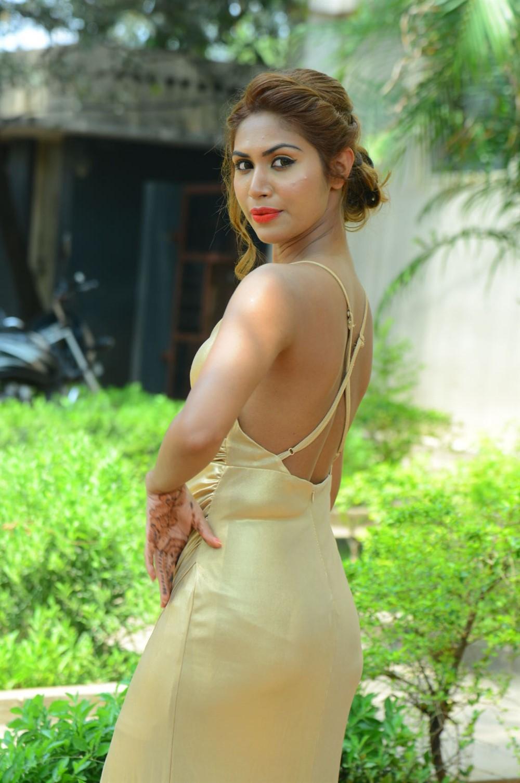 Actress Nishi Ganda Hot Stills @ Captain Rana Pratap Movie Audio Launch