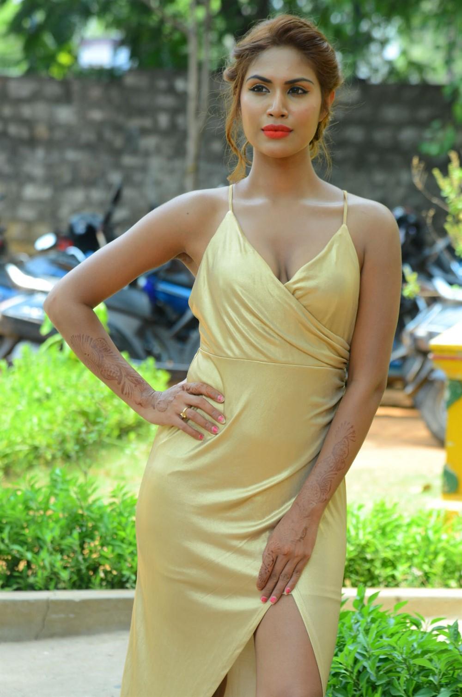 Actress Nishigandha Stills @ Captain Rana Pratap Audio Launch