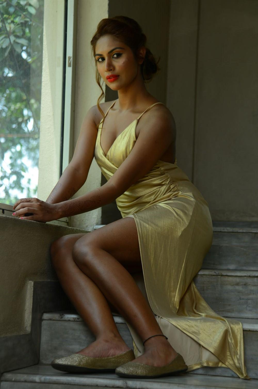 Actress Nishi Ganda Stills @ Captain Rana Pratap Movie Audio Launch