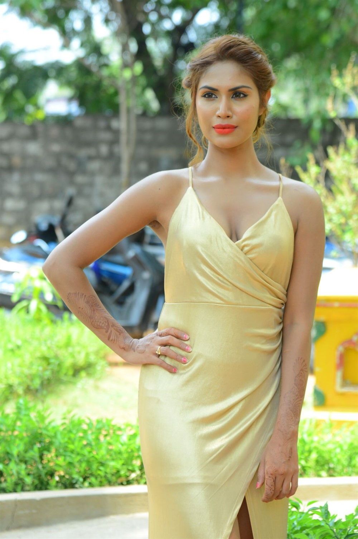 Actress Nishi Ganda Stills @ Captain Rana Prathap Audio Launch