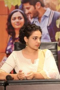 Nithya Menen Latest Photos @ 100 Days of Love Press Meet