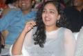 Actress Nithya Menon at Gunde Jaari Gallanthayyinde Audio Release