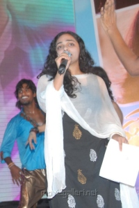 Actress Nithya Menon Latest Photos at Gunde Jaari Gallanthayyinde Audio