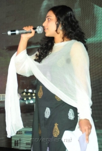 Nithya Menon Photos at Gunde Jaari Gallanthayyinde Audio Launch